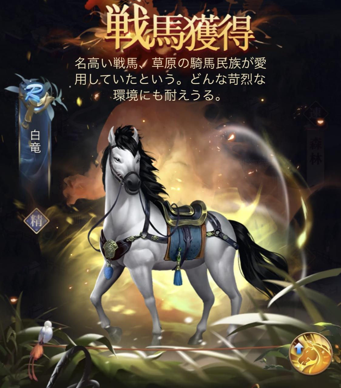 『日替わり内室』初心者編29 戦馬